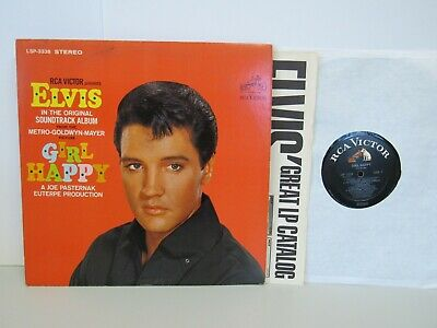 Elvis Presley  - Girl Happy Movie Soundtrack   -  Rock LP -  Stereo