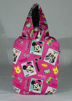 Minnie Mouse Hot Water Bottle & Cover set