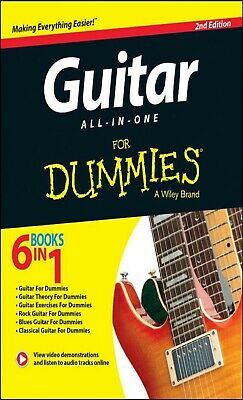 Guitar All-In-One For Dummies (6 Books in 1) + Online Video & Audio Instruction