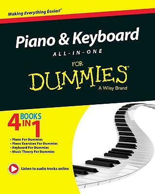 Piano and Keyboard All-in-One For Dummies 2014 + Online Video & Audio
