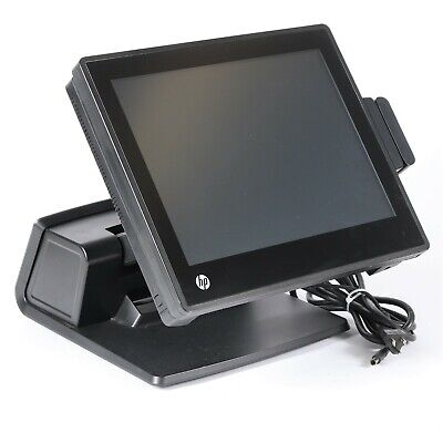 "HP RP7 7800 Retail POS System 15"" Touchscreen Celeron G540 2.5GHz 4GB RAM NO HDD"
