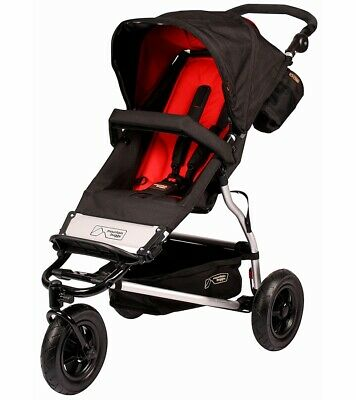 Mountain Buggy Swift Jogger Single Seat Stroller, Chilli, Brand New In Box
