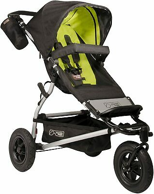 Mountain Buggy Swift Jogger Single Seat Stroller, Lime,  Brand New In Box