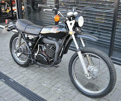* Sold * 1975 Yamaha Dt250 * Matching Numbers * Runs And Rides Well