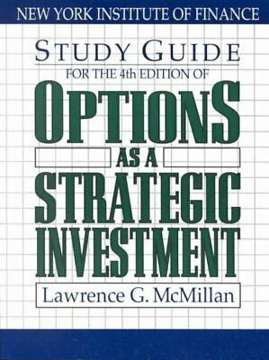 Options As a Strategic Investment, Paperback by McMillan, Lawrence G., Brand ...
