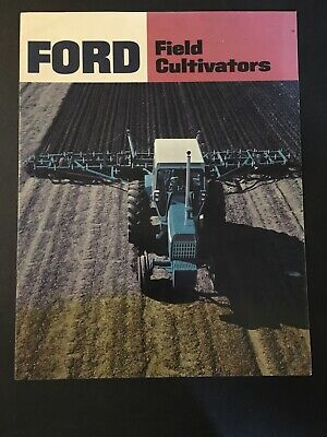 Original Vintage Ford Field Cultivators 320 208 117 Sales Brochure D-6088 127075