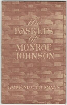Monroe Johnson Warren County Missouri Basket Maker - Scarce Collector Booklet
