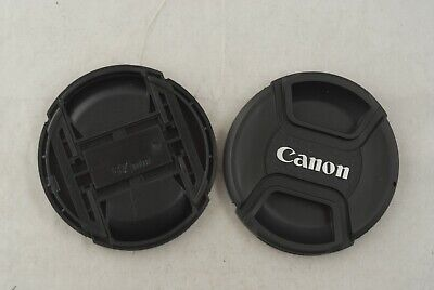 Two Canon 67mm Front Lens Caps in Excellent Condition
