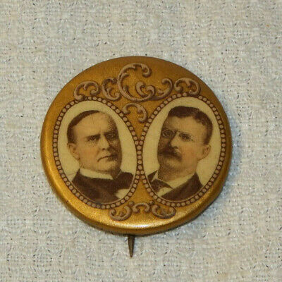 6179 1932 Franklin Roosevelt Celluloid Shield Photo Pin