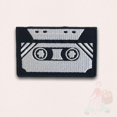 Retro Tape Cassette Patch 7x4.4cm Iron or Sew on