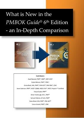 PMBOK Guide 6th Edition + Depth Comparison PMBOK 6th Ed vs. 5th Ed