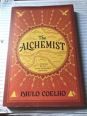 The Alchemist by Paulo Coelho 25th Anniversary Edition