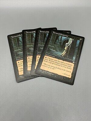 4 Tortured Existence ~ Negro Stronghold MTG Magic común 4x x4