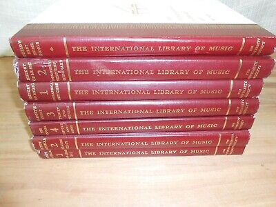 The Scribner Music Library 10 Volumes