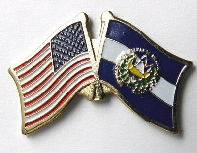 El Salvador National Country World Flag Combo Lapel Pin 1 Inch