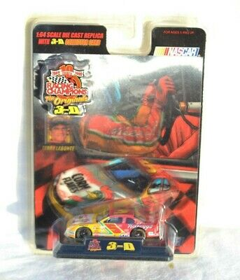 Terry Labonte 3-D NASCAR 1999 Kelloggs Racing Champions 1:64 Diecast car New