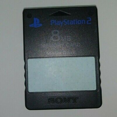 PlayStation 2 Memory Card 8 MB Black PS2