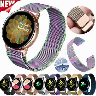 Milanese Loop Bracelet For Samsung Galaxy Watch Active 2 40/44mm Wristband Strap