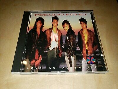 Love an Adventure by Pseudo Echo (CD,1987, RCA Records) Early Japan Press