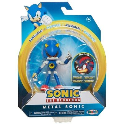 Sonic The Hedgehog 4-Inch Wave 2 Bendable Figure - Metal Sonic *BRAND NEW*