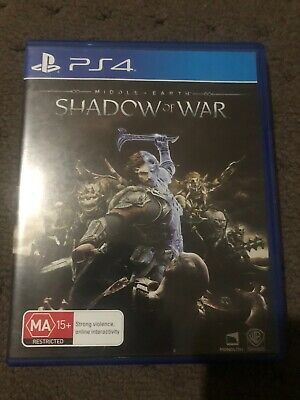 Shadow Of War PlayStation 4 Game PAL BEST VALUE CHEAP BUY TRUSTED AUS SELLER