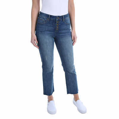Kenneth Cole Ladies' Button Front Jean NWT VARIETY SIZE & COLOR