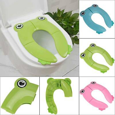 Travel Portable Folding Potty Training Kids Toilet Seat Cover Babies Toddlers UK