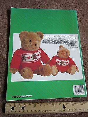 Teddy Bear Patterns Toys Sewing Applique Embroidery Sachet, Jump Rope Handles
