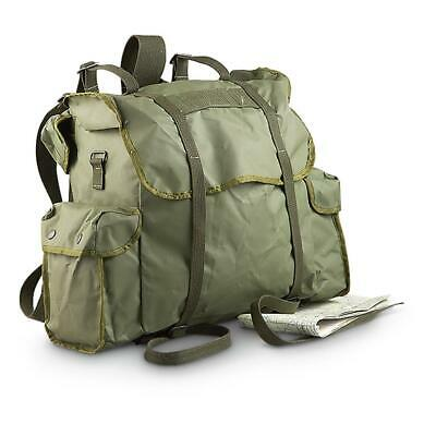Green Waterproof Rucksack Belgian Military Issue Backpack Storage Transport Camp