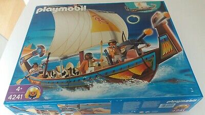 Playmobil Egypt ancient Egyptian boat ship new unopened boxed toy rare 4241