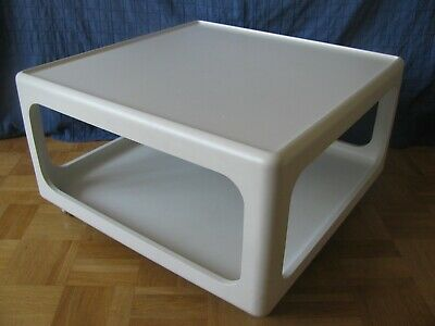 Horn Collection Peter Ghyczy Rolltisch Coffee Table 70er Jahre