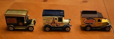 Collection Of 3 Pepsi Vintage Style Vehicles