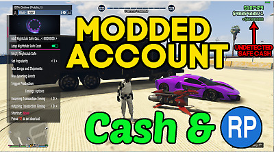 GTA 5 Modded account service / recovery *PC ONLY* *UNDETECTED*