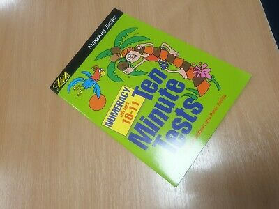 Childrens Maths Ten Minute Tests Year 5 6 Home School Learning numeracy