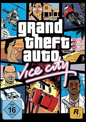 GTA - Grand Theft Auto Vice City PC Download Vollversion Steam Code Email