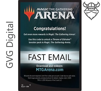 MAY01 Message 1 Per Account MTGA MTG Arena FNM at Home Promo Pack Code