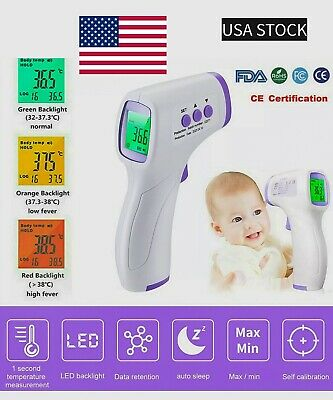 ✅Thermometer Digital Infrared ➕Free KN9FIVE)🚚, ✅termometro corporal laser🇺🇸✅