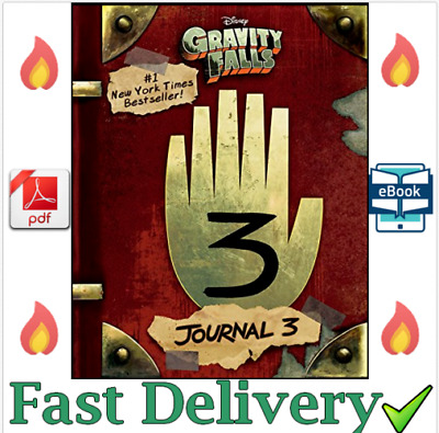Gravity Falls Journal 3 ✅ by Alex Hirsch Rob Renzetti [P,D.F] ✅ Fast Delivery ✅