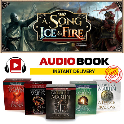 A Song of Ice and Fire 🔥 / AUDIO BOOKS 1-5 / Bestseller / DOWNLOAD