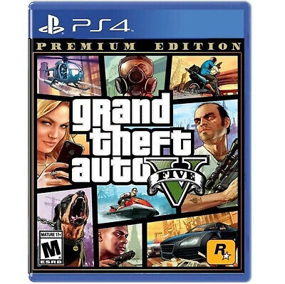 Juego Consola Sony PS4 Grand Theft Auto V Premium Edition