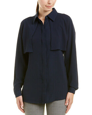 L White//Navy Alton Gray Womens Top