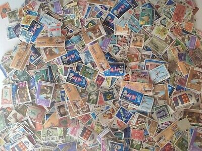 Collection of 1000++ Commonwealth Stamps.