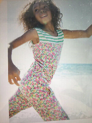 Girls Mini Boden Playsuit Jumpsuit 9 - 10 Years