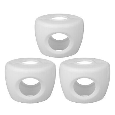 White Door Knob Cover For Children Baby Safety Lock Guard Home Security 3pcs