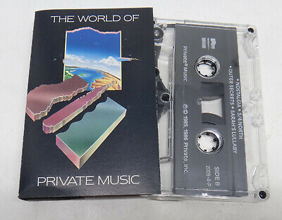 Various The world of private music MC Cassette Private Music – 2009-4-P  US