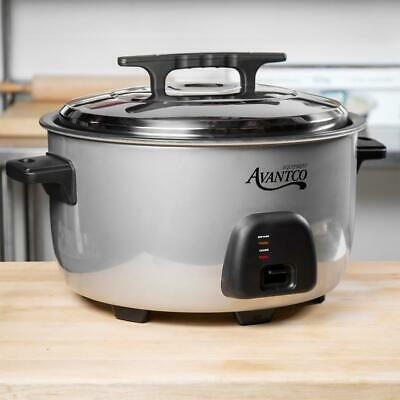 Avantco 60 Cup (30 Cup Raw) Electric Rice Cooker / Warmer - 120V, 1750W