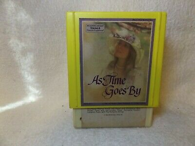 Vintage 8 Track Tapes As Time Goes By 3 Tape Set Readers Digest Set