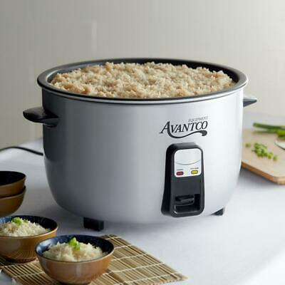 Avantco 46 Cup (23 Cup Raw) Electric Rice Cooker / Warmer - 120V, 1650W