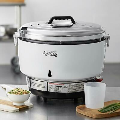 Avantco Natural Gas 110 Cup (55 Cup Raw) Gas Rice Cooker - 14,000 BTU