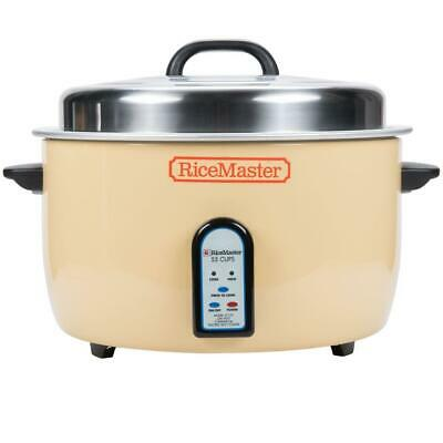 Town 110 Cup (55 Cup Raw) Electronic Rice Cooker / Warmer - 208V, 3330W